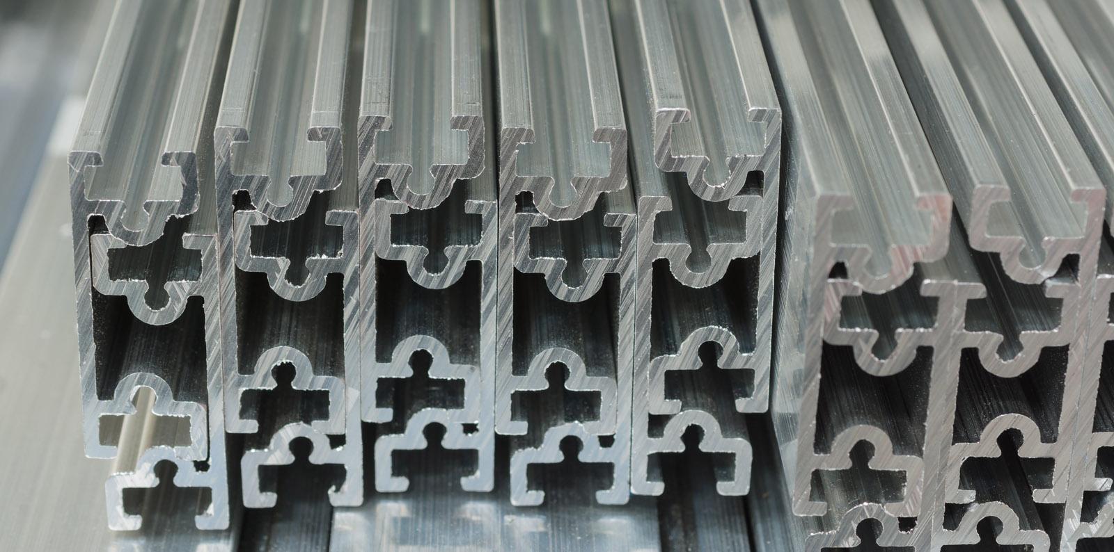 Image of aluminium extrusions